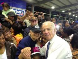 Joe Biden and Elaine Cooper
