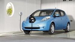 A Nissan Leaf.