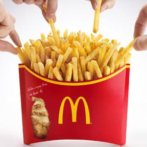 Yo dogg, I heard you like fries, so I put fries on your fries.