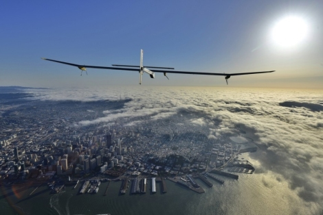 Click for a slideshow of Solar Impulse's journey.