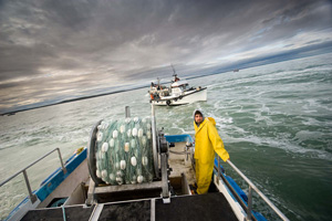 The Pebble Mine threatens the area's important fishing industry.