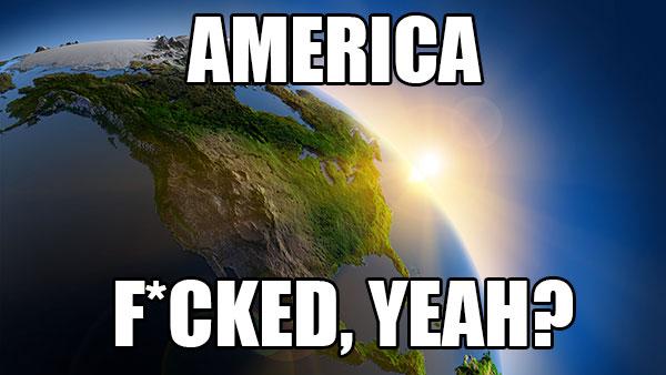 america meme space fucked yeah heat
