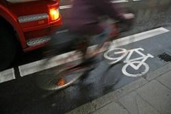 bike lane blur