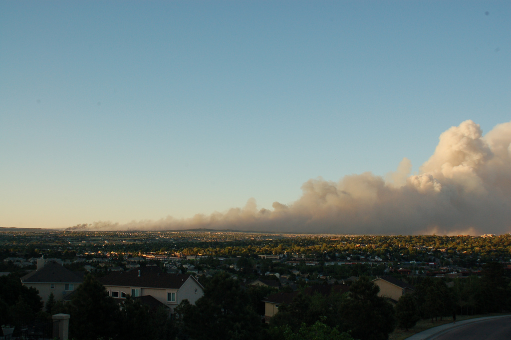 Colorado burning
