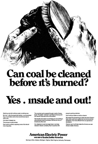 Can coal be cleaned before its burned?