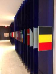 EU Flags at delegation