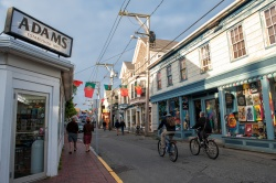 Provincetown business district