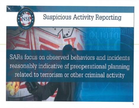 SuspiciousActivityterrorist