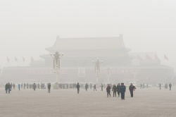 bad air in Beijing