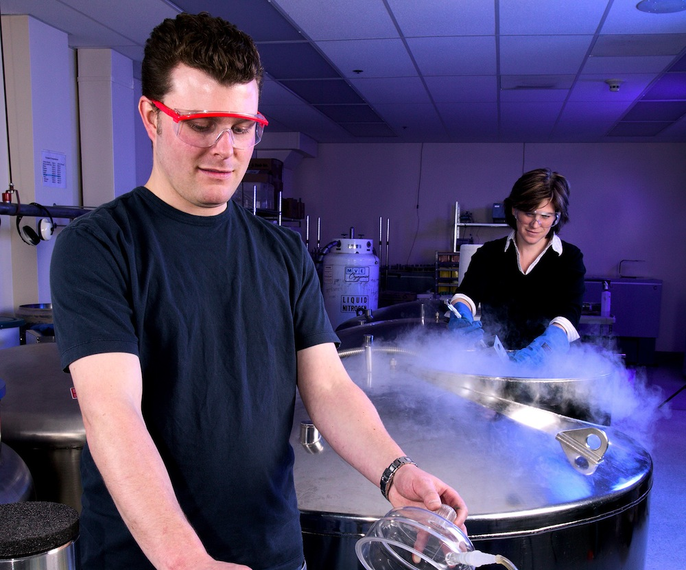 USDA cryopreservation