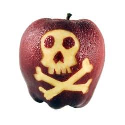 A dangerous apple