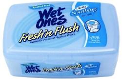 Wet Ones Fresh 'n Flush