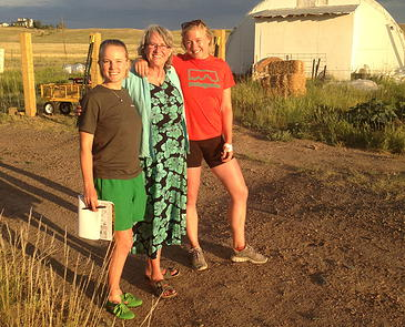 Jackie Taylor, of Happy Jack Farm in Cheyenne, Wyo., has a disposition to match her farm's name.
