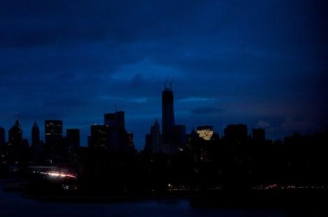 New York City after Superstorm Sandy.