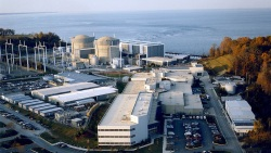 Calvert Cliffs Nuclear Power Plant in Lusby, Md
