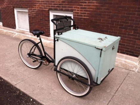Seriously, who steals a book bike?