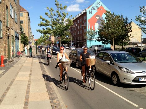 copenhagen cycle superhighway