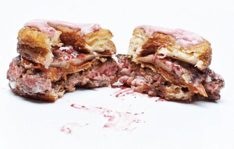 cronut-burger-eaten