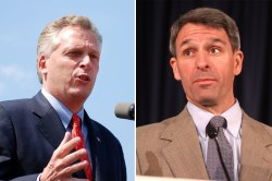 McAuliffe and Cuccinelli
