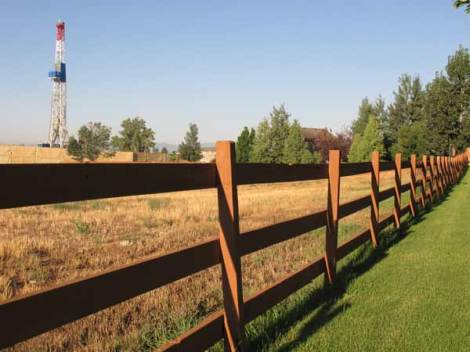 Many homeowners wish fences made better neighbors.