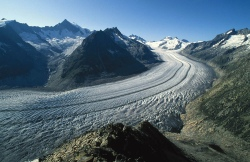 Say goodbye to the the Aletsch Glacier in Switzerland.