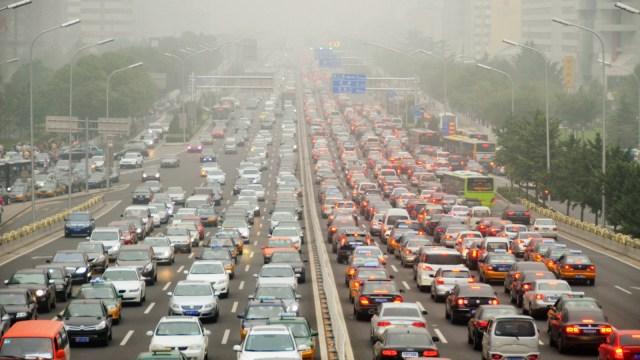 beijing traffic.