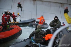 Greenpeace protest in Russia