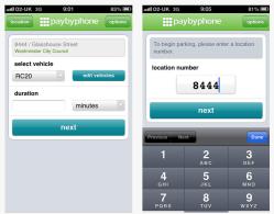 PaybyPhone-iPhone-screenshots