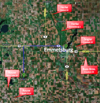 The Farms owned by the Soper family