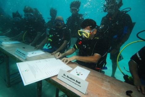 underwater maldives cabinet