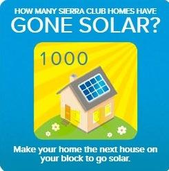 Go solar with the Sierra Club