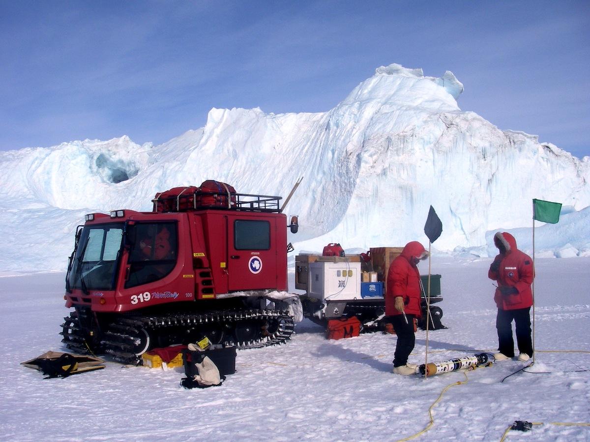 Antarctic research