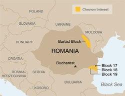 Chevron in Romania