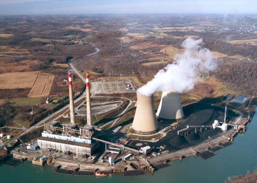 Hatfield's Ferry power plant
