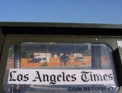 L.A. Times newspaper box