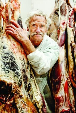 Butcher Gerrit van den Noord
