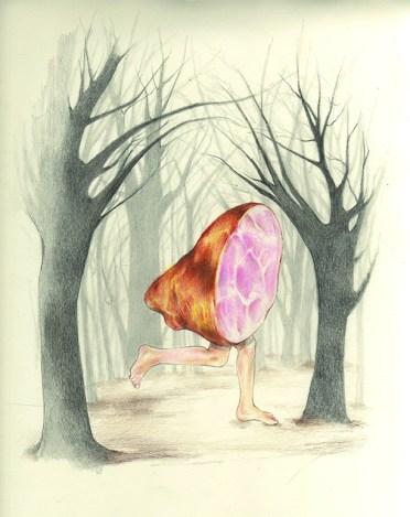 Meatpaper illustration