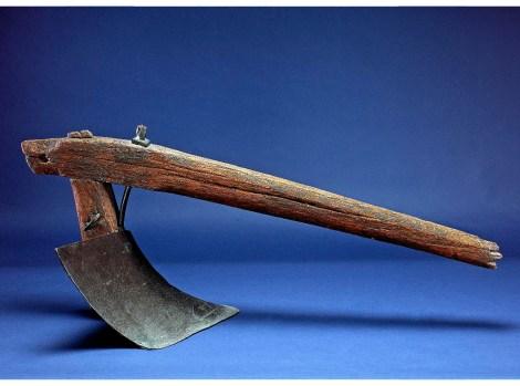 Seel moldboard plow developed by John Deere in 1838.