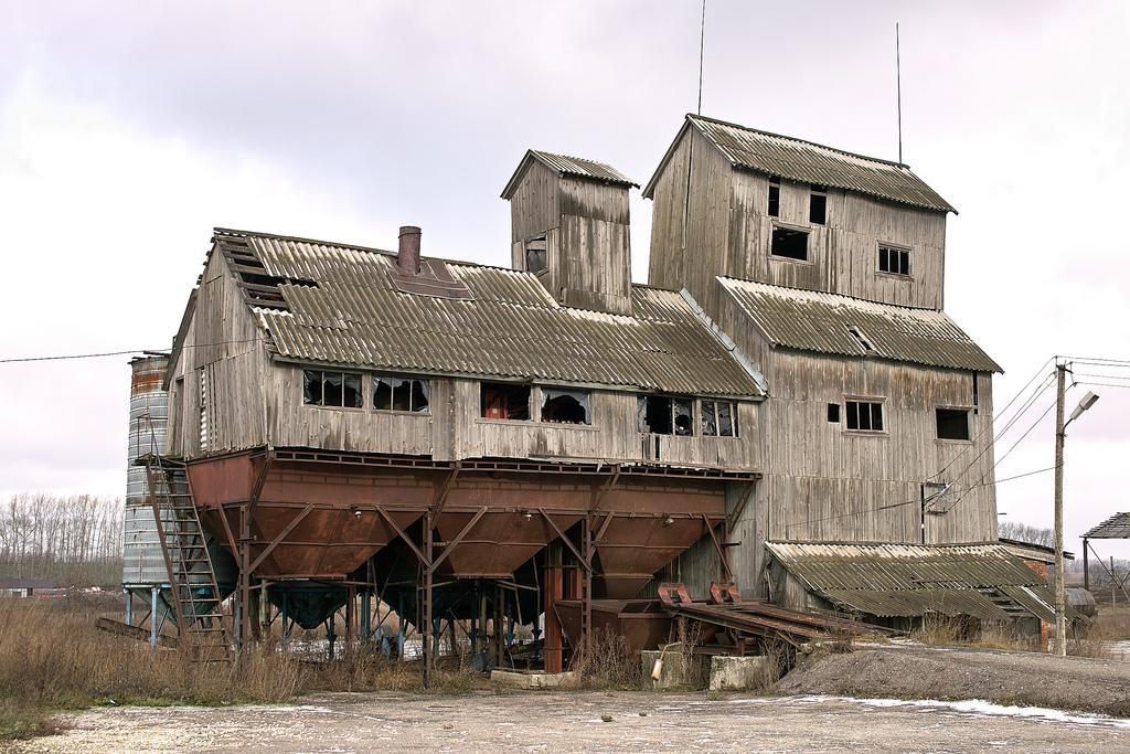 Abandoned grain processor