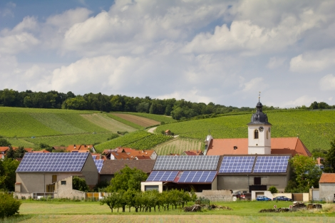 solar in small german town