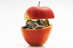 apple money food prices