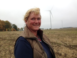 Unable to afford a share of a community wind farm, Wanja Wallemyr started a co-op for women only.