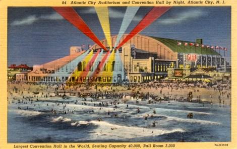 Atlantic City postcard.