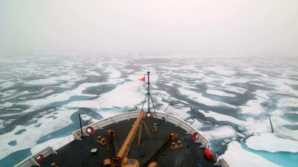 Shipping in the Arctic is increasing
