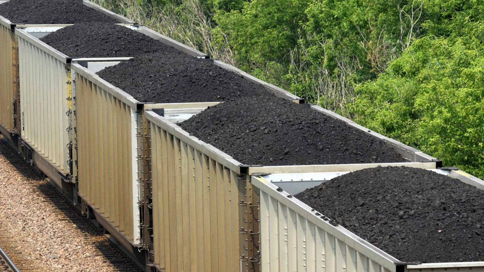 A coal train