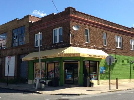 Corner Store Facade