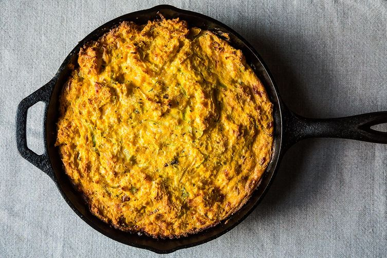 Wintry Corn Bread Pudding on Food52