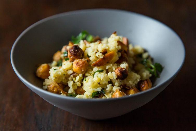 Vegan Jeweled Millet on Food52
