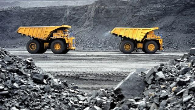 coal trucks
