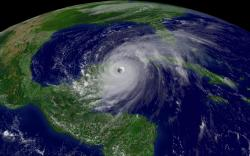 Hurricane Wilma on October 21, 2005.